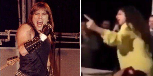 Janaína Paschoal é a nova vocalista do Iron Maiden (ao menos nesta