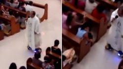 Padre é punido após rezar a missa de Natal em um SKATE