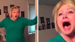ASSISTA: Mulher tem reação emocionante ao ver sua neta pela primeira