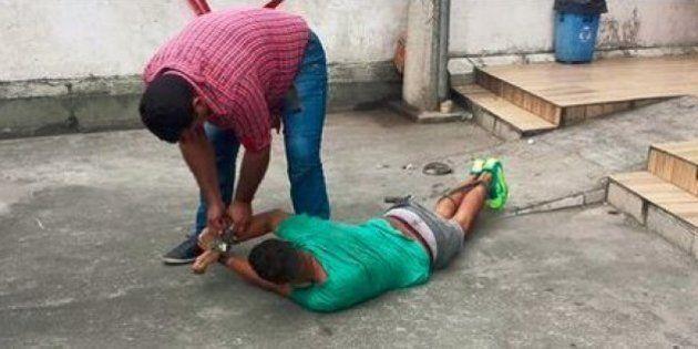 Homem é espancado no Rio de Janeiro após mulher suspeitar que ele iria