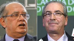 Gilmar Mendes: Mesmo réu, Cunha pode assumir a presidência do