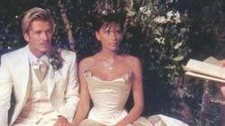 Você vai ficar no chão com as fotos do casamento chiquérrimo de Vitoria e Beckham dos anos 90