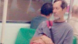 Um político que usa transporte público. É disso que