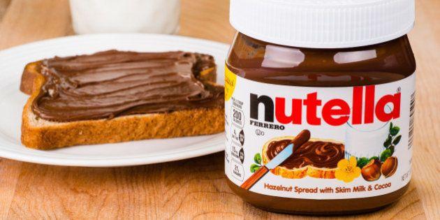 Nutella lança pote 'tamanho família' de 650 gramas no