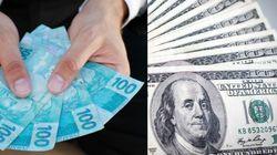 Dólar sobe e chega a R$ 3,41 pela primeira vez em 12