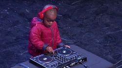 ASSISTA: DJ de apenas 3 anos faz sucesso em programa na África do