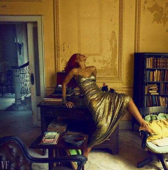 Vanity Fair: Rihanna diz que voltou com Chris Brown após violência por 'achar que iria