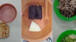 Cadê a merenda? Página divulga fotos de refeições servidas nas escolas