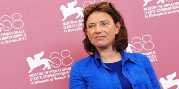 Belgian film director Chantal Akerman poses during the photocall of 'La folie Almayer' at the 68th Venice...