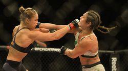 34 segundos: Ronda Rousey nocauteia Beth Correia e mantém cinturão do