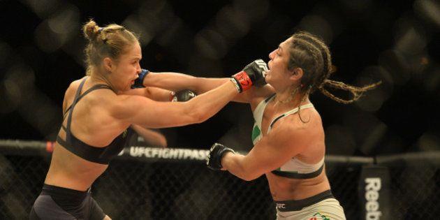 Ronda Rousey nocauteia Beth Correia em 34s e mantém cinturão do