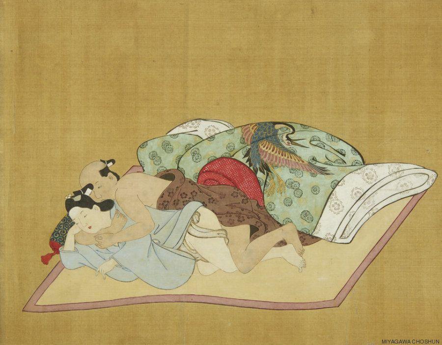 Imagens que comprovam que a arte erótica japonesa do século 17 era QUENTE