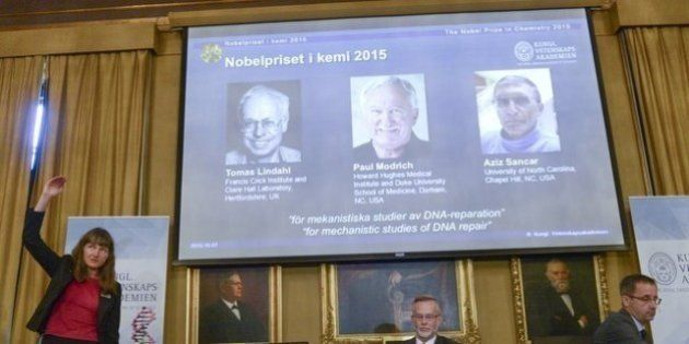 Nobel de Química é dado a trio por pesquisa sobre mecanismos de reparação do