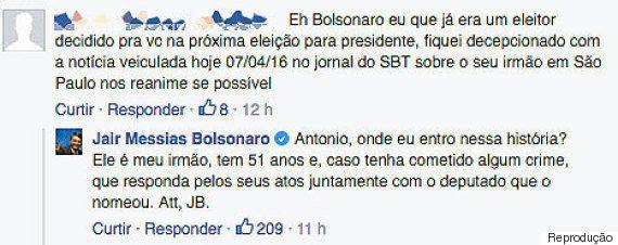 'Funcionário fantasma' na Alesp, irmão de Jair Bolsonaro é exonerado e deputado afirma: 'Pau nele!'