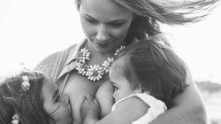 Mãe é criticada ao amamentar filhas de 1 e 3 anos em ensaio