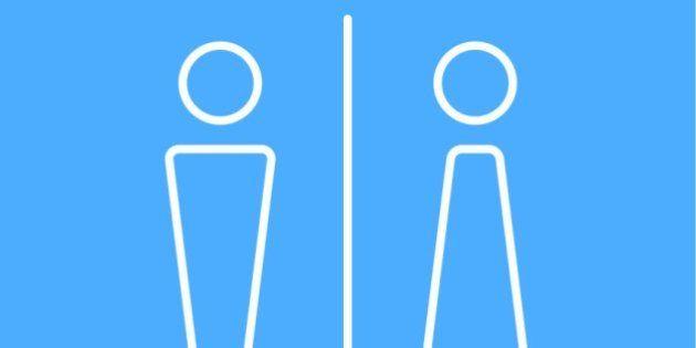 Gender line icon,vector