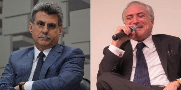 Presidente em exercício do PMDB, Romero Jucá negocia cargos em novo governo, mesmo implicado por delação...