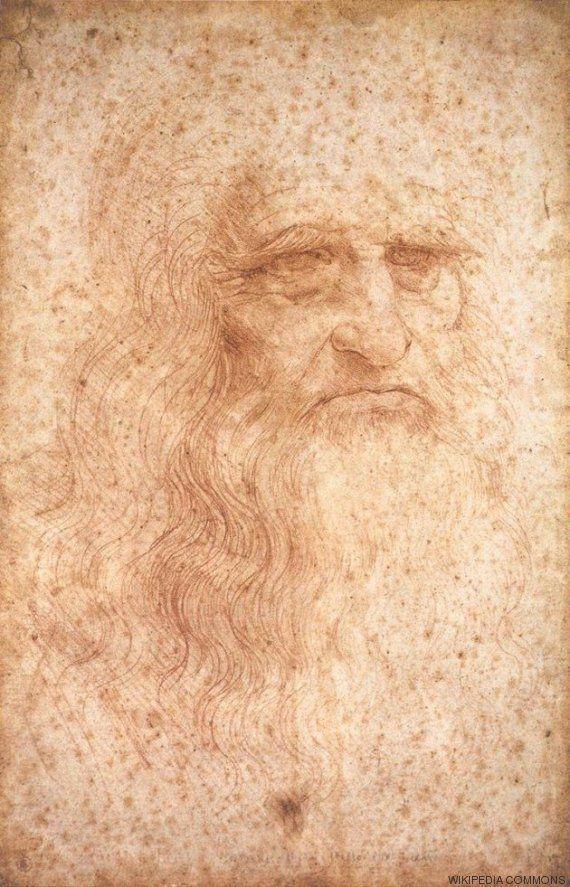 Cientistas revelam origem de pontos vermelhos que danificaram autorretrato de Leonardo da