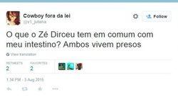 Veja os melhores comentários sobre a prisão de José Dirceu nas redes