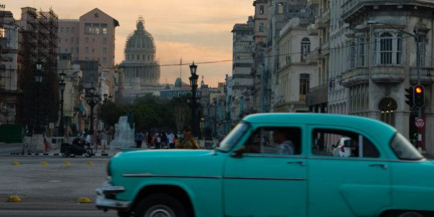 HAVANA, - JANUARY 21: The beautiful Capitol building in Havana Cuba is undergoing a major renovation....