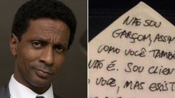 Luis Miranda: 'Só porque sou negro tenho que ser o
