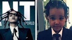 ASSISTA: Rihanna encontra sua 'versão mini' e é puro amor