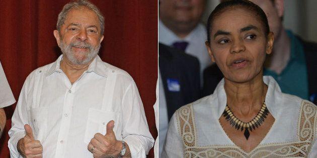 Lula e Marina Silva lideram disputa para a presidência, aponta Datafolha