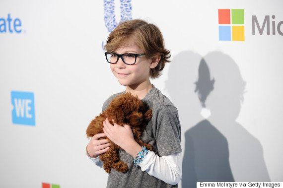 Conheça Rey, a cachorrinha de Jacob Tremblay que tem feito o maior