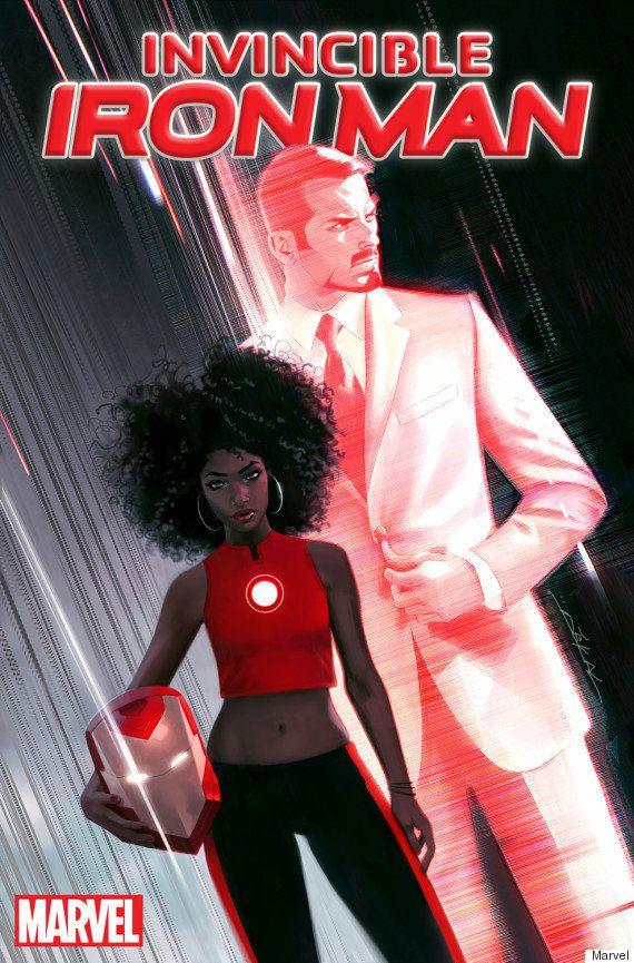 Nos quadrinhos da Marvel, Homem de Ferro será substituído por garota