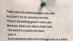 Poema 'pessimista' se torna inspirador ao ser lido de trás para