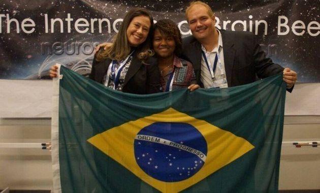 Orgulho! Lorrayne Isidoro ficou em 18º lugar em Olimpíada Internacional de