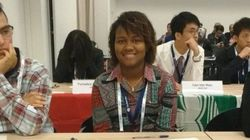 Orgulho: Lorrayne ficou em 18º lugar em Olimpíada Internacional de