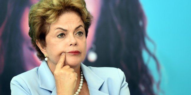 Brazilian President Dilma Rousseff attends the launching ceremony of the Investment Program in Energy...