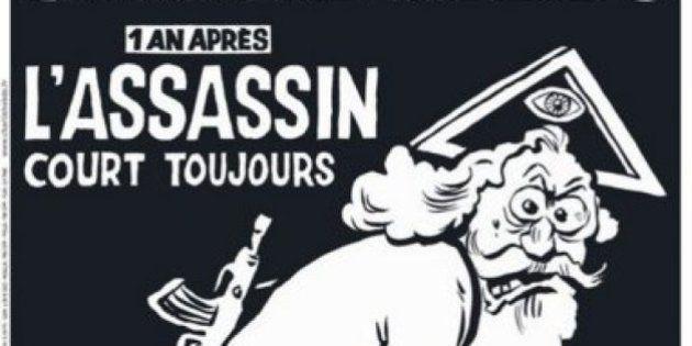 Edição especial da Charlie Hebdo estampa charge de Deus com roupa suja de