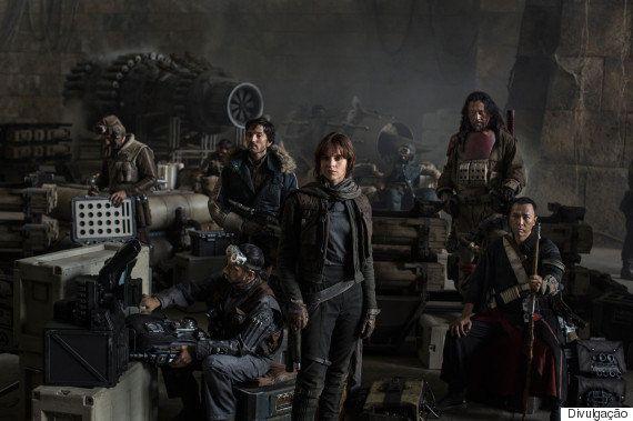 'Rogue One: a Star Wars Story' é o filme mais esperado pelo público em 2016, diz