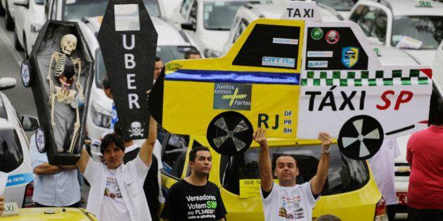 Justiça do Rio de Janeiro concede liminar que autoriza o funcionamento do Uber na