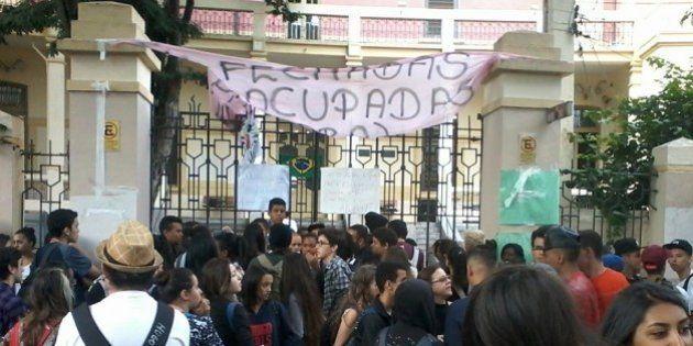 Estudantes desocupam a Escola Fernão Dias e provam que o governo abandonou a educação pública em São