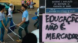 ASSISTA: Suposto policial aponta arma para estudante em