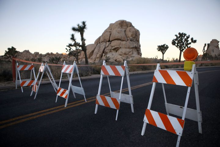 There have been just about eight rangers on hand to oversee Joshua Tree's sprawling 790,636 acres during the shutdown.