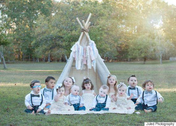 Estas fotos maravilhosas celebram a beleza de crianças com síndrome de