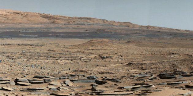 Marte teve lagos e correntes d'água no passado, confirma