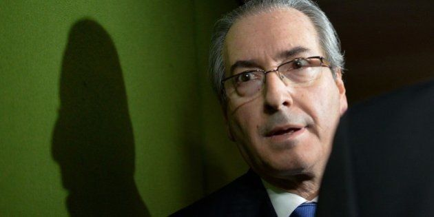(FILE) File picture of the president of the Chamber of Deputies Eduardo Cunha at the National Congress...