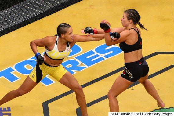 Amanda Nunes ATROPELOU Miesha Tate e é a primeira brasileira campeã do