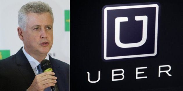 Uber em Brasília: Governador Rodrigo Rollemberg veta lei que proibia uso do app para transporte na