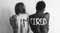 15 imagens impactantes ilustram o PESO da discriminação em cada um de