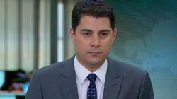 ASSISTA: Evaristo Costa se emociona com depoimento de pai no 'Jornal