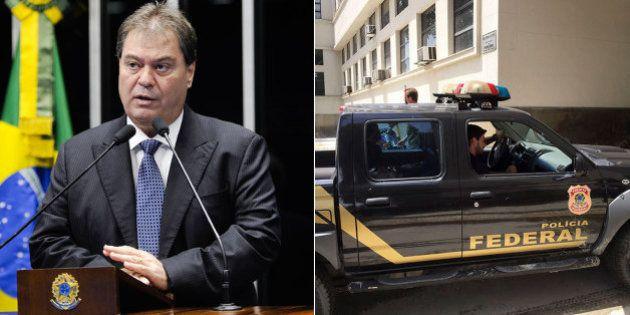 Ex-senador Gim Argello é preso por corrupção na CPI da Petrobras na 28ª fase da Lava