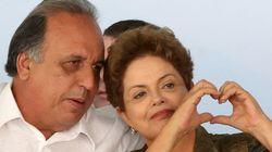 'Preocupada, mas muito firme', diz Pezão sobre Dilma e o