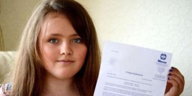 Menina de 12 anos tem QI maior que o de Einstein e de Stephen