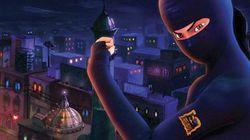 'Burka Avenger': a super-heroína paquistanesa que usa livros como